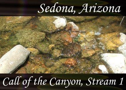 SoundScenes - Atmo-Arizona - Sedona, Call of the Canyon, Stream 1
