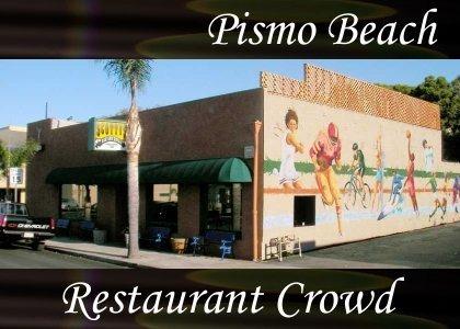 SoundScenes - Atmo-California - Pismo Beach, Restaurant Crowd