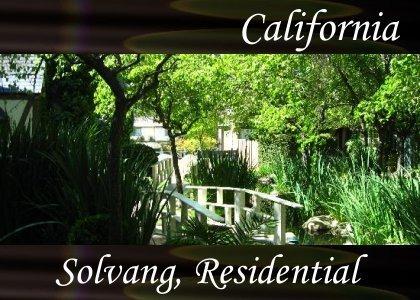 SoundScenes - Atmo-California - Solvang, Residential