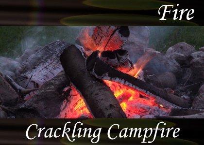 SoundScenes - Atmo-Fire - Crackling Campfire