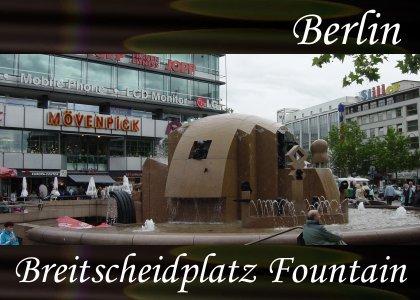 SoundScenes - Atmo-Germany - Berlin, Breitscheidplatz Fountain