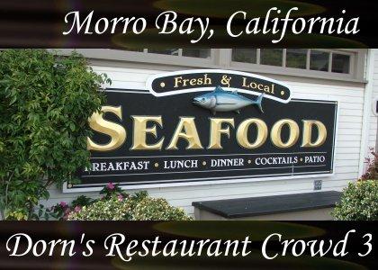 SoundScenes - Atmo-Locale - California, Morro Bay, Dorn's Restaurant Crowd