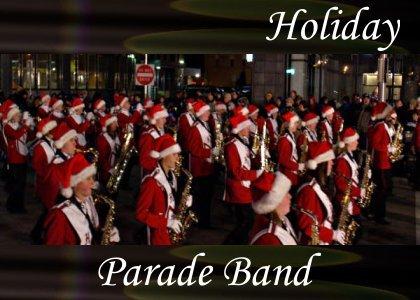 SoundScenes - Atmo-Holidays - Parade Band