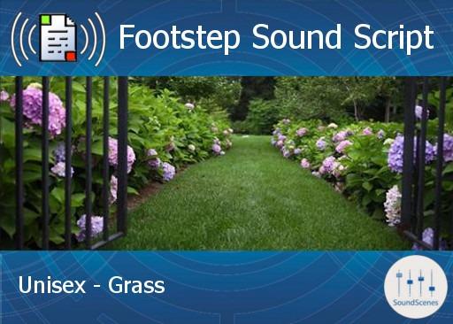 footstep script – unisex – grass1